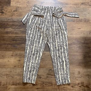 High Waist Pants Small Animal Print Pants Small